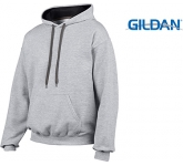 Gildan Heavy Blend Contrst Hoody  by Gopromotional - we get your brand noticed!