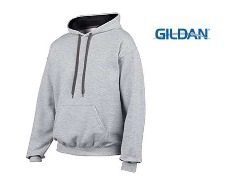 Gildan Heavy Blend Contrst Hooded Sweatshirt