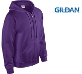 Gildan Heavy Blend Zipped Hoody  by Gopromotional - we get your brand noticed!