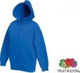Fruit Of The Loom Kids Classic Zipped Hoody
