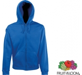 Fruit Of The Loom Classic Zipped Hoody  by Gopromotional - we get your brand noticed!