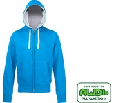 AWDis Chunky Zipped Hoody  by Gopromotional - we get your brand noticed!