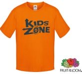 Fruit Of The Loom Sofspun Boys T-Shirts - Coloured