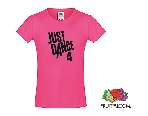 Fruit Of The Loom Sofspun Girls T-Shirts - Coloured