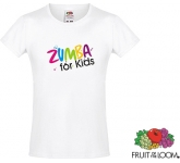 Fruit Of The Loom Sofspun Girls T-Shirts - White
