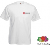 Fruit Of The Loom Value Weight T-Shirts - White  by Gopromotional - we get your brand noticed!