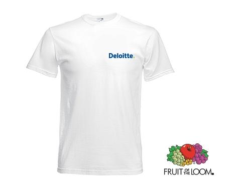 Fruit Of The Loom Original T-Shirts - White