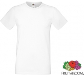 Fruit Of The Loom Sofspun T-Shirts - White  by Gopromotional - we get your brand noticed!