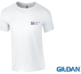 Gildan Softstyle Ringspun T-Shirts - White  by Gopromotional - we get your brand noticed!