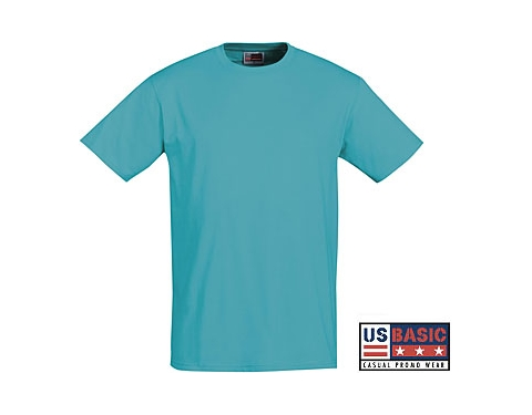 d28bf63f Promotional US Basic Super Club Heavy T-Shirt Printed with your Logo at  GoPromotional