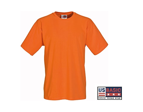 f4a7a146 Promotional US Basic Super Club Super Heavy T-Shirt Printed with your Logo  at GoPromotional