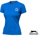 Slazenger Serve Ladies Performance T-Shirt  by Gopromotional - we get your brand noticed!