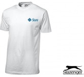 Slazenger Ace T-Shirts - White  by Gopromotional - we get your brand noticed!