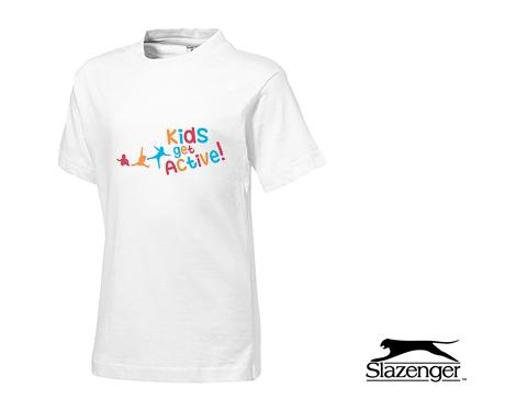 Slazenger Ace Kids T-Shirts - White