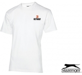 Slazenger Ace Return T-Shirts - White  by Gopromotional - we get your brand noticed!