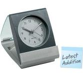Paris Frosty  Travel Alarm Clock