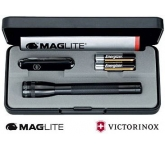 Mini Maglite AA & Victorinox Classic SD Set  by Gopromotional - we get your brand noticed!