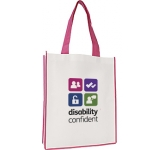 Colorado Large Contrast Exhibition Tote  by Gopromotional - we get your brand noticed!