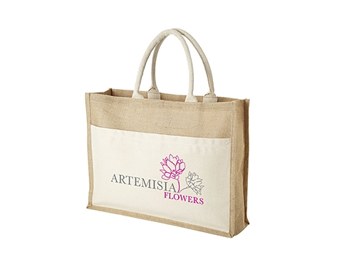 Calcutta Natural Corporate Cotton Jute Bag
