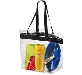 Malibu Clear Tote Bag  by Gopromotional - we get your brand noticed!