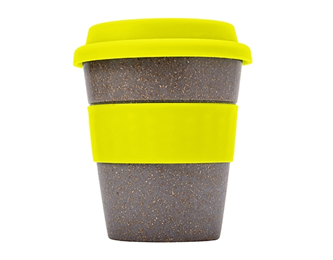 Save On Bamboo Reusable Coffee Cup Printed With Your Logo Gopromotional Uk
