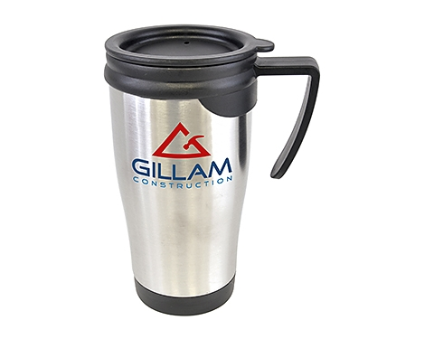 Saturn 450ml Stainless Steel Travel Mug