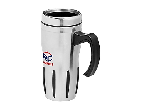 Arizona Corporate 300ml Branded Stainless Steel Travel Mug
