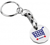 New Pound Trolley Coin Keyring  by Gopromotional - we get your brand noticed!