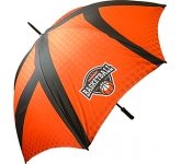 Bedford Black Golf Umbrella  by Gopromotional - we get your brand noticed!