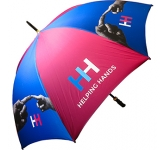 Eclipse Black Golf Umbrella  by Gopromotional - we get your brand noticed!