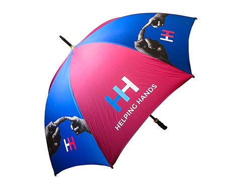 Eclipse Black Golf Umbrella