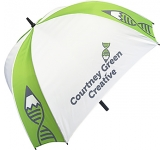 ProSport Deluxe Square Golf Umbrella  by Gopromotional - we get your brand noticed!
