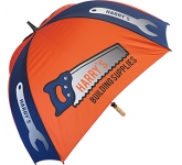 Spectrum Sport Wood Square Golf Umbrella  by Gopromotional - we get your brand noticed!