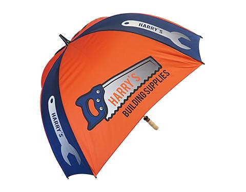 Spectrum Sport Wood Square Golf Umbrella