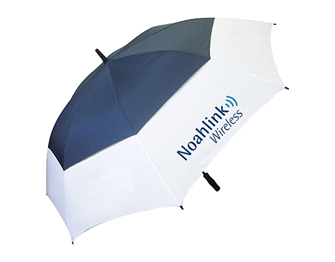 Stormy Weather For Public Libraries And >> Promotional TourVent Automatic Golf Umbrella Printed with your Logo at GoPromotional