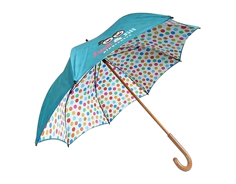 Spectrum Urban Wood Double Canopy Umbrella