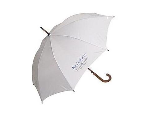 Classic Wood Crook Automatic Umbrella