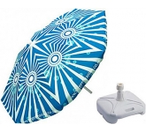 Aluminium Round Parasol  by Gopromotional - we get your brand noticed!