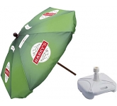 Classic Square Wooden Parasol  by Gopromotional - we get your brand noticed!