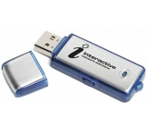 Aluminium 2 FlashDrive  by Gopromotional - we get your brand noticed!