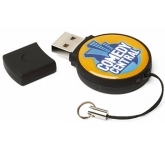 Epoxy Circle FlashDrive  by Gopromotional - we get your brand noticed!