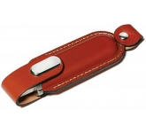 Leather FlashDrive  by Gopromotional - we get your brand noticed!