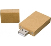 Recycled Paper FlashDrive  by Gopromotional - we get your brand noticed!