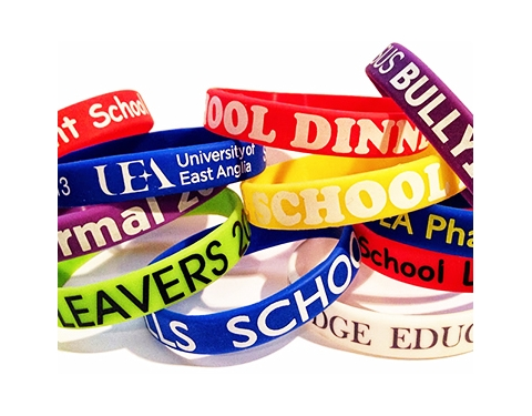 Silicone Wristbands - Printed