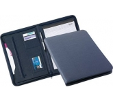 Lincoln Zipped Conference Folder  by Gopromotional - we get your brand noticed!