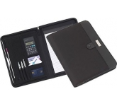 Dublin Zipped Conference Folder  by Gopromotional - we get your brand noticed!