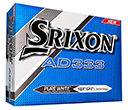 Srixon AD333 Golf Balls  by Gopromotional - we get your brand noticed!