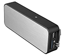 Berlin Power Bank Bluetooth Speakers - 4400mAh  by Gopromotional - we get your brand noticed!