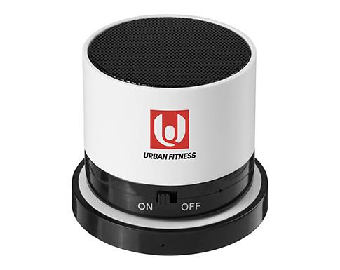 Aruba Bluetooth Speakers With Wireless Charging Pad