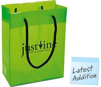 Medium Fashion  Plastic PP  Carrier Bags
